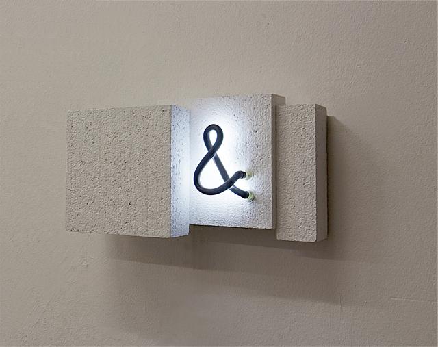 , '&,' 2017, Galerie Floss & Schultz