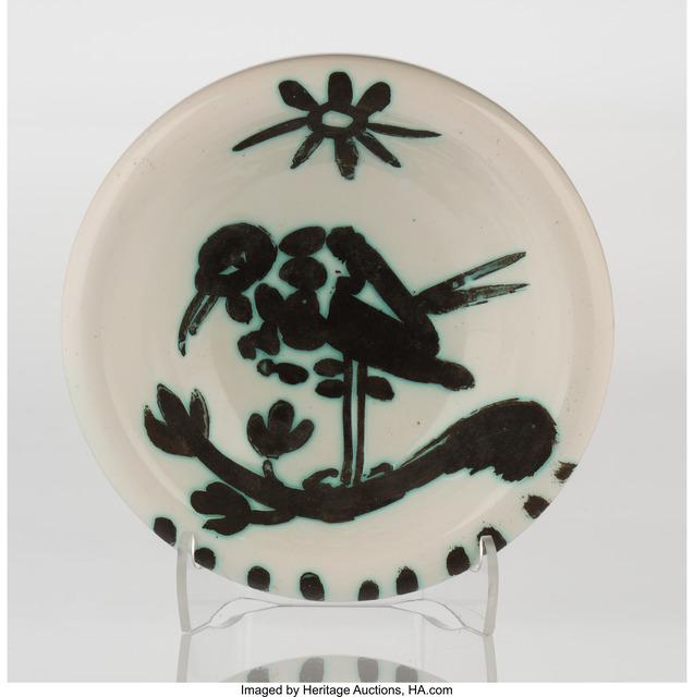 Pablo Picasso, 'Oiseau au soleil (A./R/ 174)', 1952, Heritage Auctions