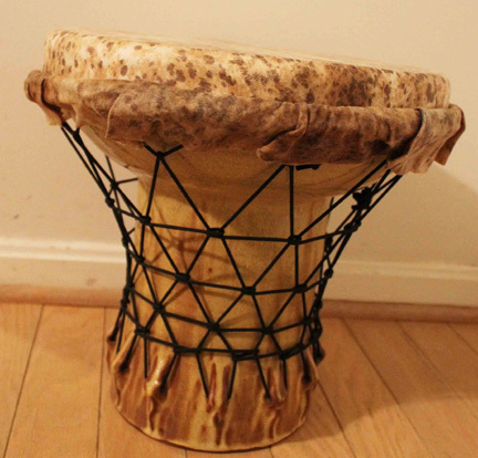 Hadrian Mendoza, 'Djembe #3 (Functional Drum)', Zenith Gallery