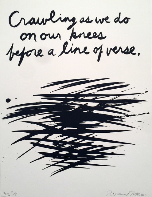 """, '""""Untitled, Crawling as we do on our Knees"""",' 1990, David Lawrence Gallery"""