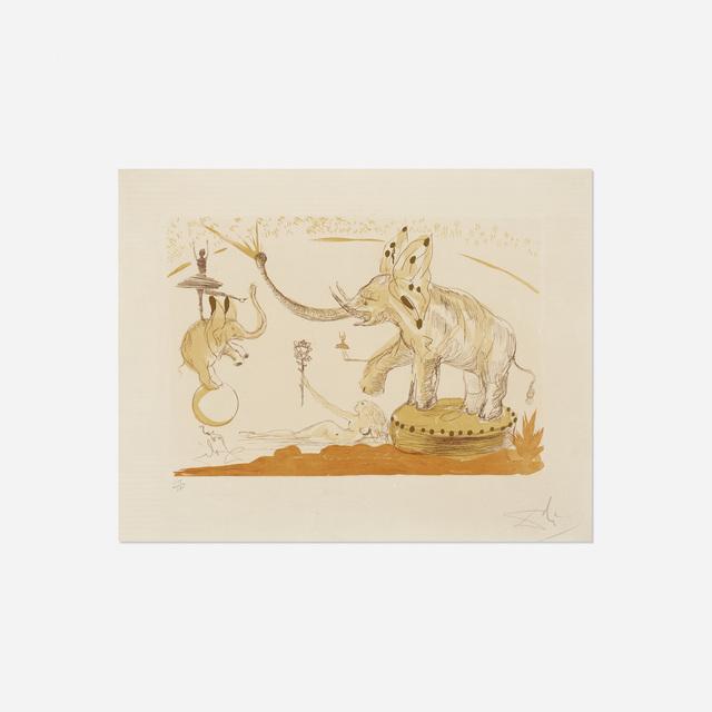 Salvador Dalí, 'Elephants from Le Cirque', 1965, Rago/Wright