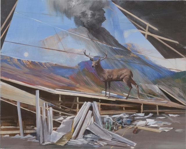 Adam Cvijanovic, 'Imaginary Studio with Deer', 2012, Postmasters Gallery