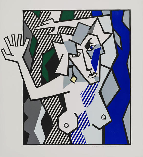 Roy Lichtenstein, 'NUDE IN THE WOODS', 1980, Marcel Katz Art