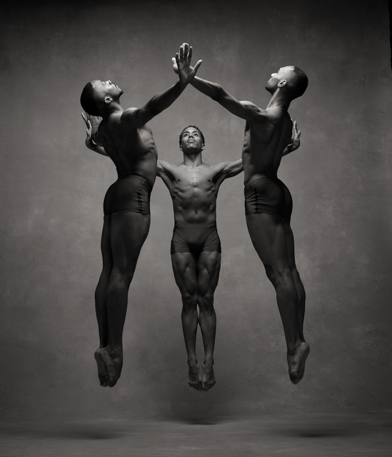 , 'Michael Jackson Jr., Daniel Harder, Sean Aaron Carmon, Alvin Ailey American Dance Theater,' 2015, Holden Luntz Gallery