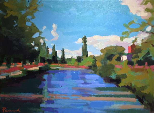 , 'Canal du Midi,' 2018, ArtProv Gallery