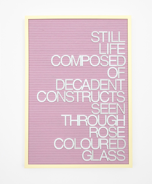, 'Untitled / Rose Colored Glass,' 2016, Gavlak