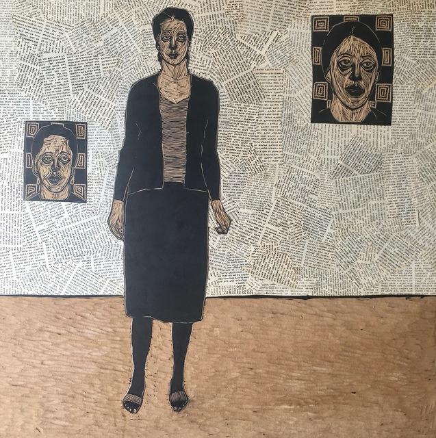 , 'Folk Memory 9,' 2015, Guzo Art Projects