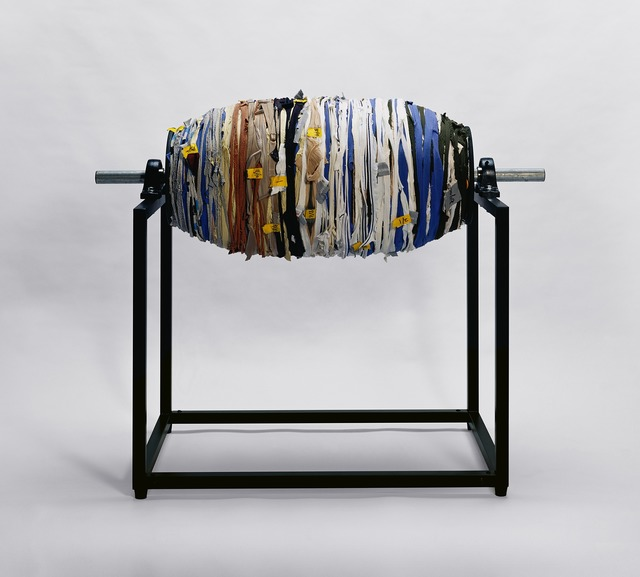 , 'Clothing Project-Fabric rope roller image,' 2004-2008, Mind Set Art Center