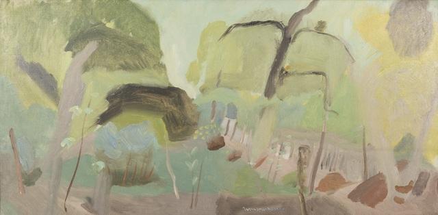 Ivon Hitchens, 'Woodland Interior, Shropshire Landscape', ca. 1930-32, Painting, Oil on canvas, Jenna Burlingham Fine Art