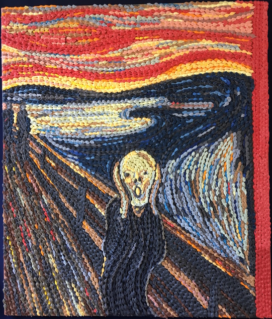 , 'The Scream ,' 2017, Whitestone Gallery