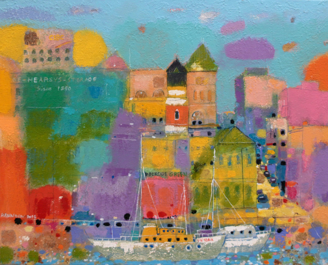 , 'A View of the City,' , Madrona Gallery