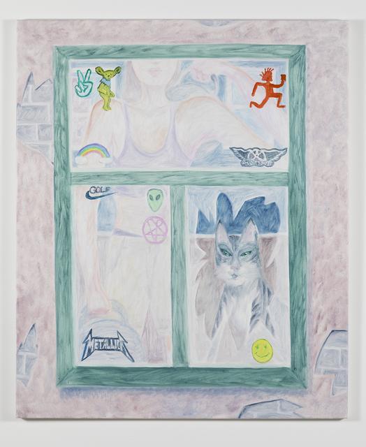 , 'Sticker Window,' 2017, David Risley Gallery