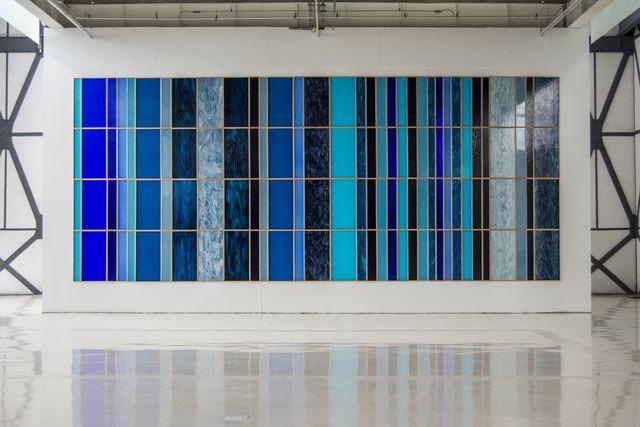 Sofía Táboas, 'Azul Extensivo', 2016, kurimanzutto