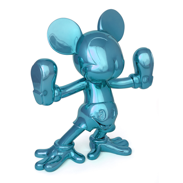 , 'Freaky Mouse (turquoise),' 2015, Fabien Castanier Gallery