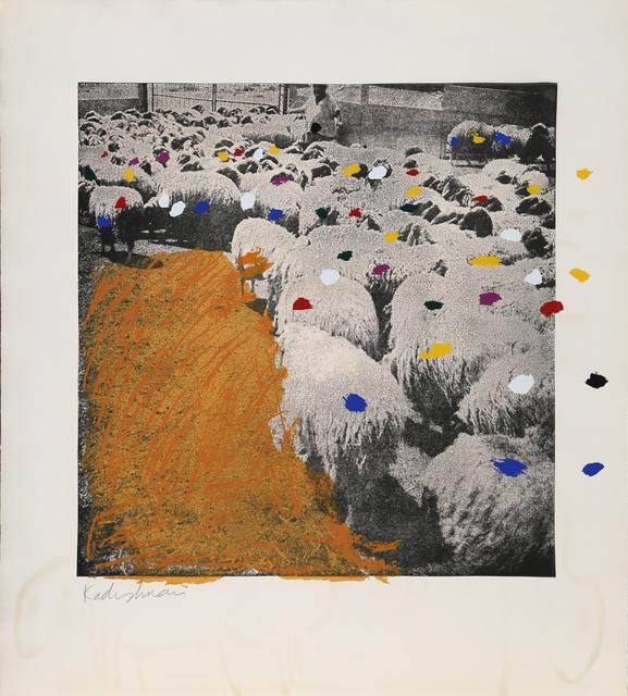 Menashe Kadishman, 'SHEEP Portfolio, ', 1981, RoGallery