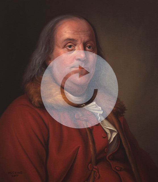 , 'Benjamin Franklin: Panic Five (A Much Needed Refresh),' 2017, Modernism Inc.
