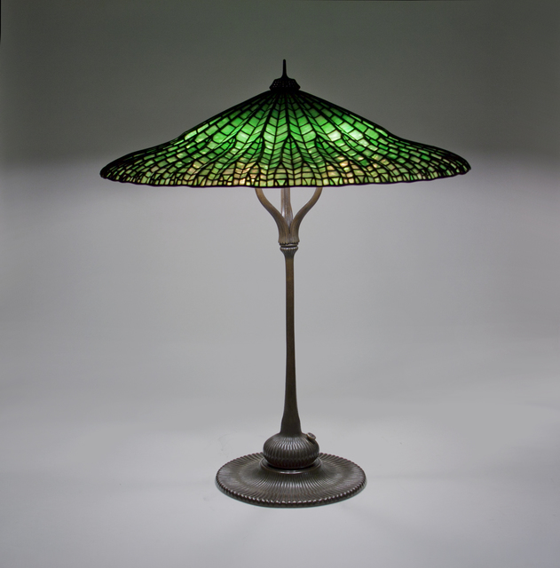, 'Lotus Table Lamp,' ca. 1906, Lillian Nassau LLC