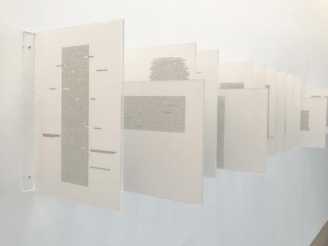 Johanna Calle, 'Minúsculas ', 2013, Galeria Marília Razuk