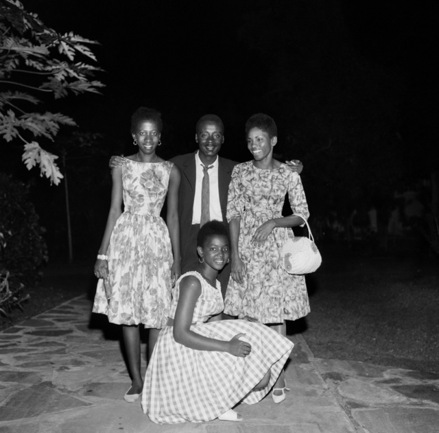 , 'Soirée des Aristos, Bamako,' 1963, Collezione Maramotti
