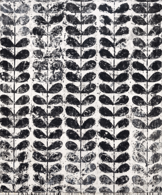 , 'Erased Orla Kiely (Black No. 16),' 2017, Winston Wächter Fine Art