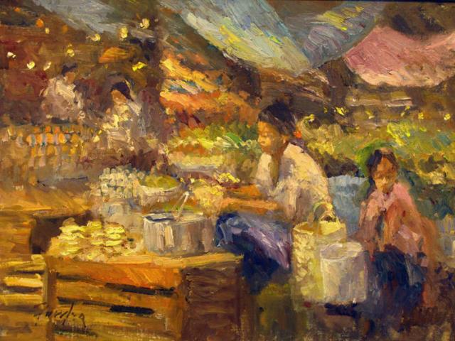Gordon Fowler, 'Mercado San Miguel ', 2012, Wally Workman Gallery