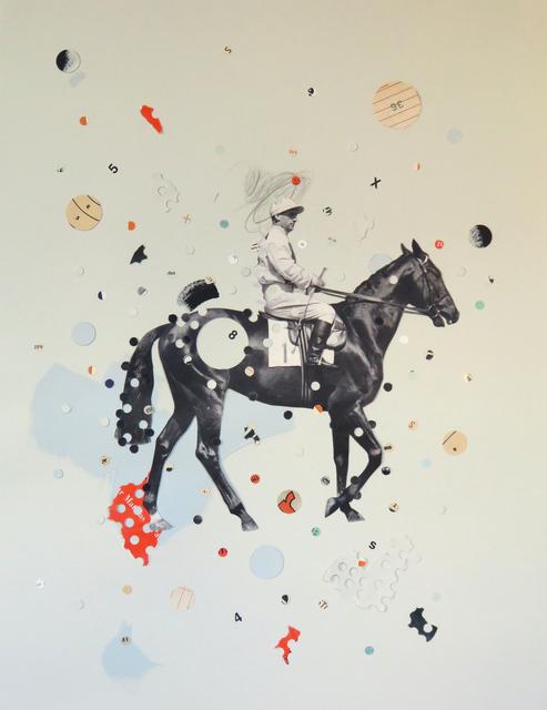, 'Likes Horses (Swipe Right),' 2018, Roman Fine Art