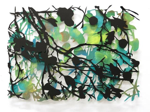 , 'Scrub,' 2017, Le Salon Vert