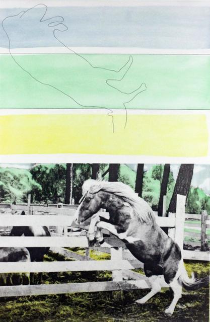 John Baldessari, 'Three Colors (with Horse Ascending)', 1986, Kenneth A. Friedman & Co.