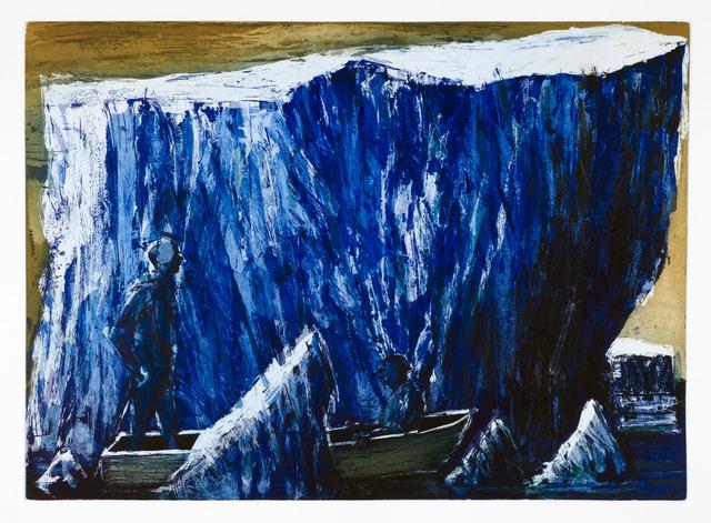 Euan Macleod, 'Boatmen / Icebergs', 2010, Cicada Press