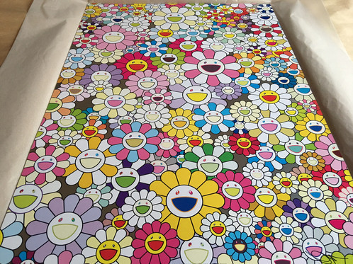 Takashi Murakami, 'An Homage To Yves Klein Multicolor A', 2012, Dope! Gallery