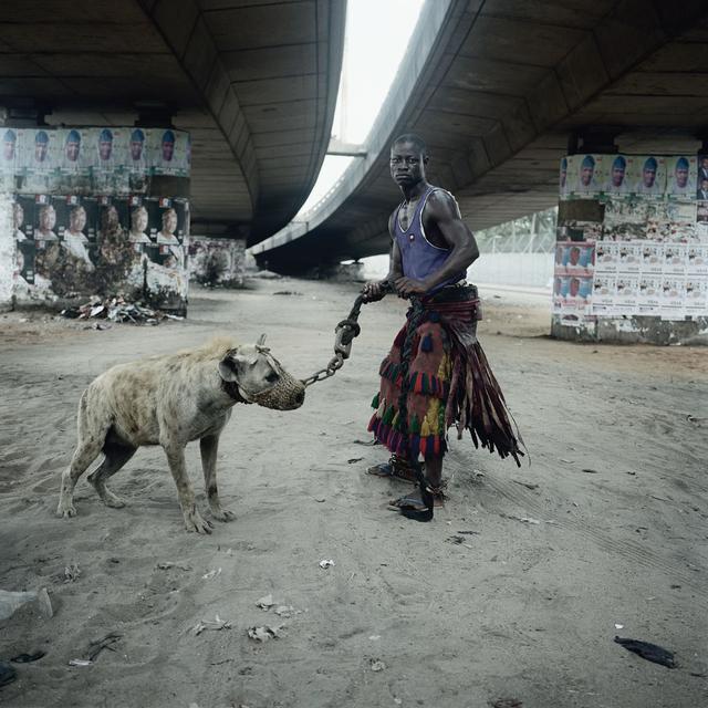 , 'Abdullahi Mohammed with Mainasara, Lagos, Nigeria,' 2007, Michael Hoppen Gallery