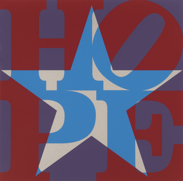 , 'Star of HOPE (Red/Blue/Silver/Purple) ,' 2013, Contini Art UK