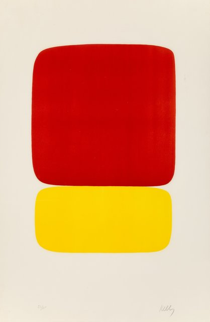 Ellsworth Kelly, 'Red over Yellow (Rouge sur Jaune), from the Suite of Twenty-Seven Color Lithographs', 1964-1965, Heritage Auctions