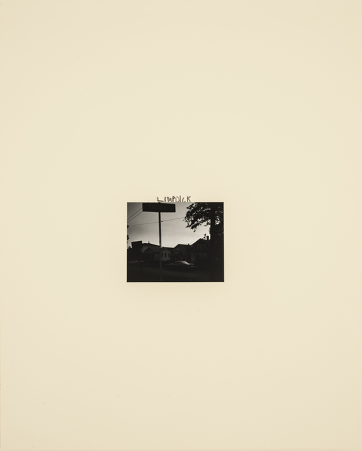 , 'Limpdick,' 1989, Casemore Kirkeby