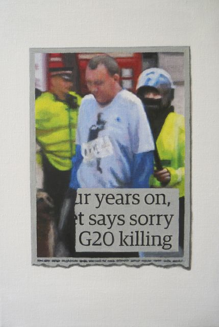 , 'G20 Killing,' 2015, Charlie Smith London