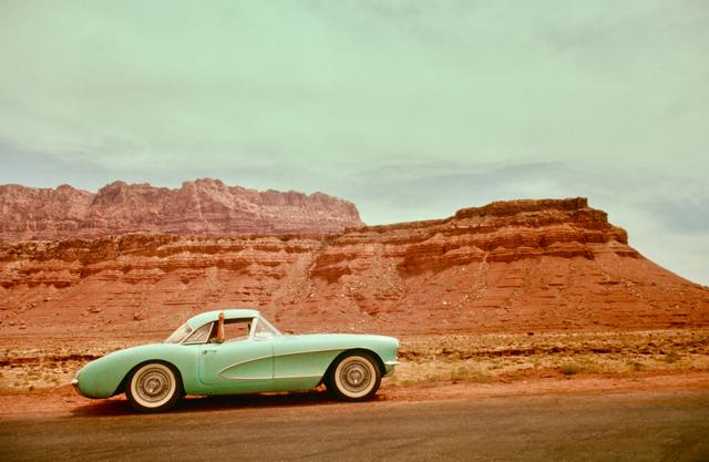 , 'Driving West, Navajo Territory,' 1961, Albumen Gallery