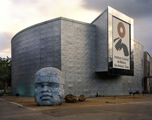 ", 'San Antonio 1968 World's Fair, ""The Confluence of Civilizations in the Americas,"" Instituto Cultural De México with Olmec Head   ,' , Front Room Gallery"