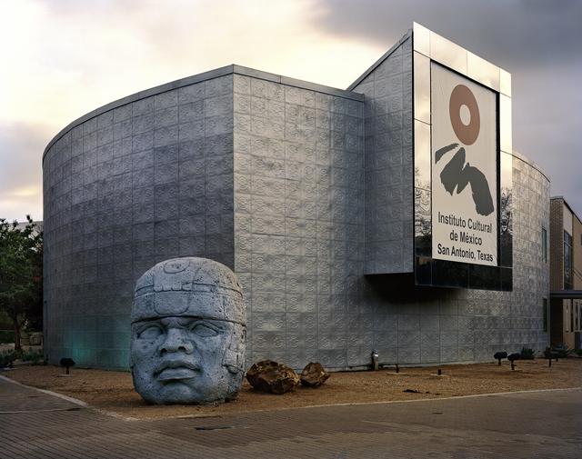 ", 'San Antonio 1968 World's Fair, ""The Confluence of Civilizations in the Americas,"" Instituto Cultural De México with Olmec Head ,' , Front Room Gallery"