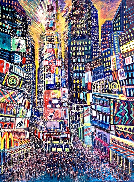 , 'TIMES SQUARE II,' 2014, Alpha 137 Gallery