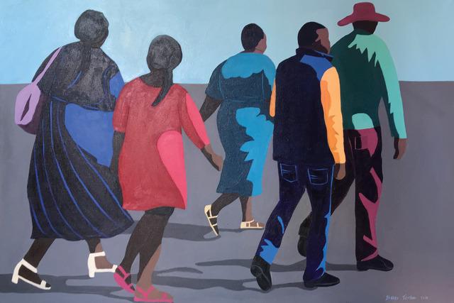 Shakes Tembani, '3 Ladies and 2 Men', 2019, Opulent Living Gallery
