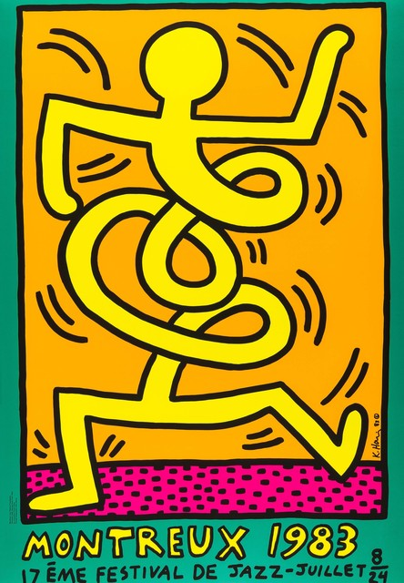 Keith Haring, 'Montreux Jazz Festival', 1983, RAW Editions: The Edit V