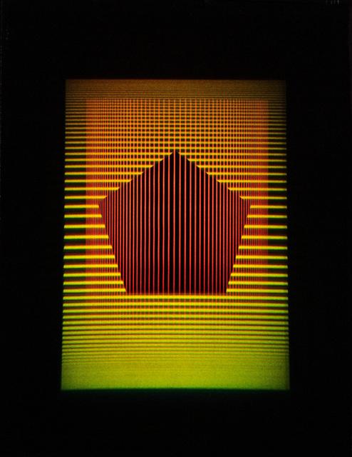 , 'InterferencePentagon.r.01,' 2016, Johannes Vogt Gallery