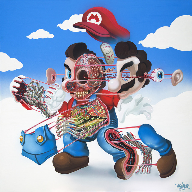 , 'Dissection of Supermario,' 2016, Jonathan LeVine Projects
