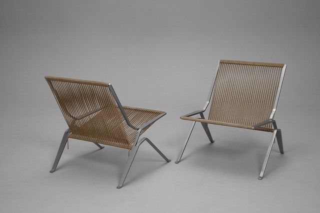 , 'Pair of PK-25 Chairs,' ca. 1950, Jacksons