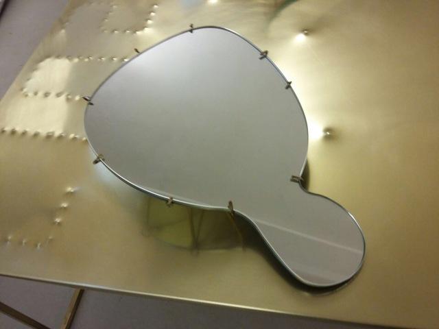 , 'Specchio a mano,' 2017, LUCIANO COLANTONIO