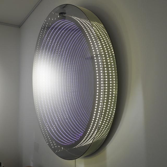 Emmanuelle Rybojad, 'Spectre Infini', 2017, Sculpture, LED, plexiglass and mirrors, Gloria Gallery