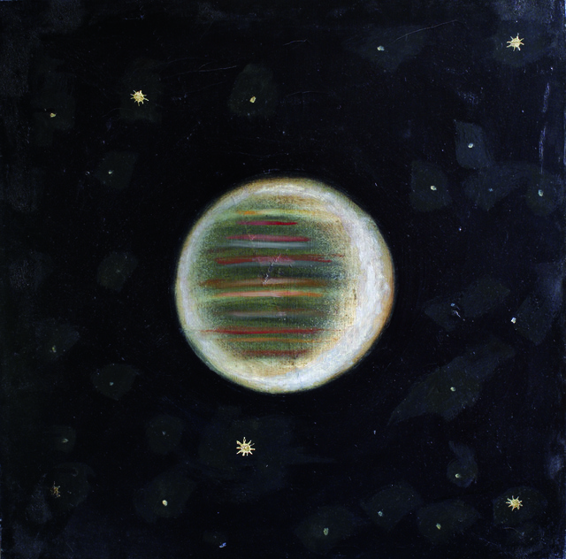 ", '#7 from the series ""Planets"",' 1996, Gallery 21"