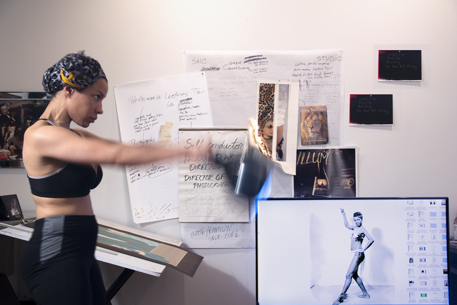 Rashayla Marie Brown, 'Credibility, Viability, Accuracy/Maya Angelou as a Sex Worker/Can't Knock the Hustle', 2016, Artadia