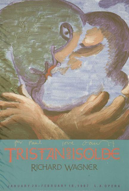 David Hockney, 'Tristan Und Isolde - Robert Wagner', 1997, Sworders