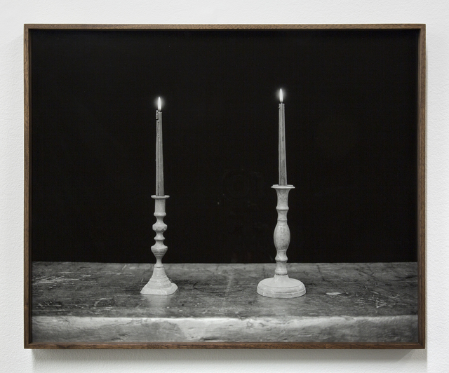 , 'Two Candles, Black,' 2018, Night Gallery